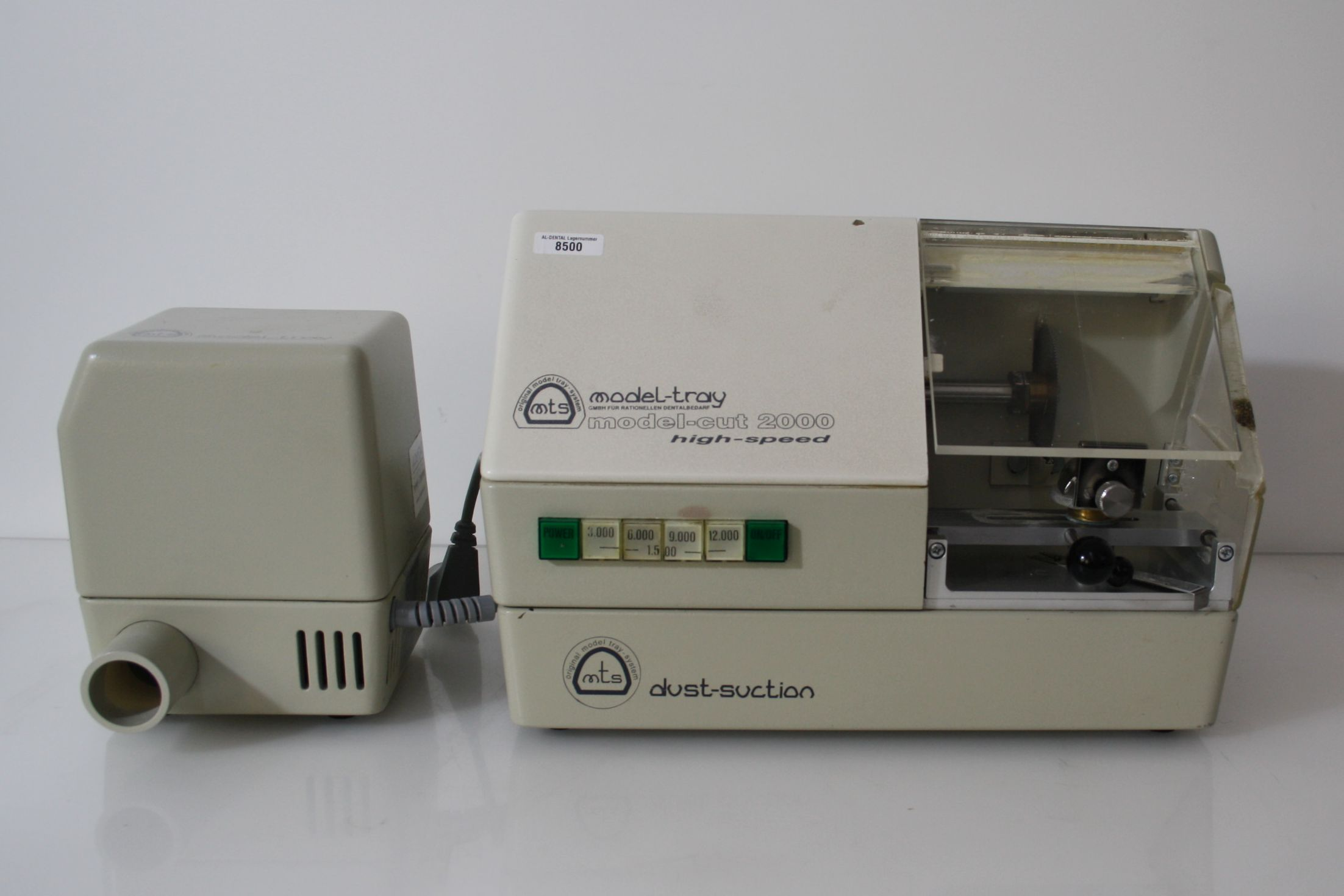Modellsäge model-cut 2000 high-speed Model-tray + Dust-suction # 8500