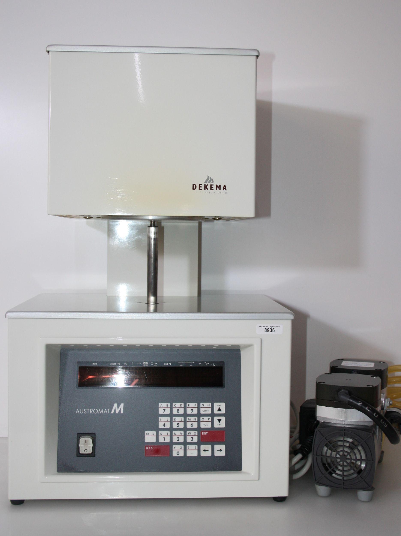 DEKEMA Keramikofe  Typ Austromat M mit Vakuumpumpe # 8936