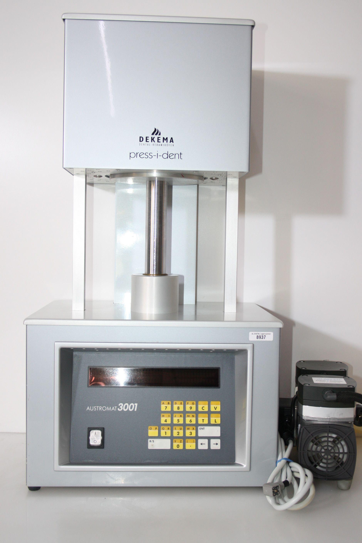DEKEMA Keramik/Pressofen Austromat 3001 press-i-dent + Vakuumpumpe # 8937
