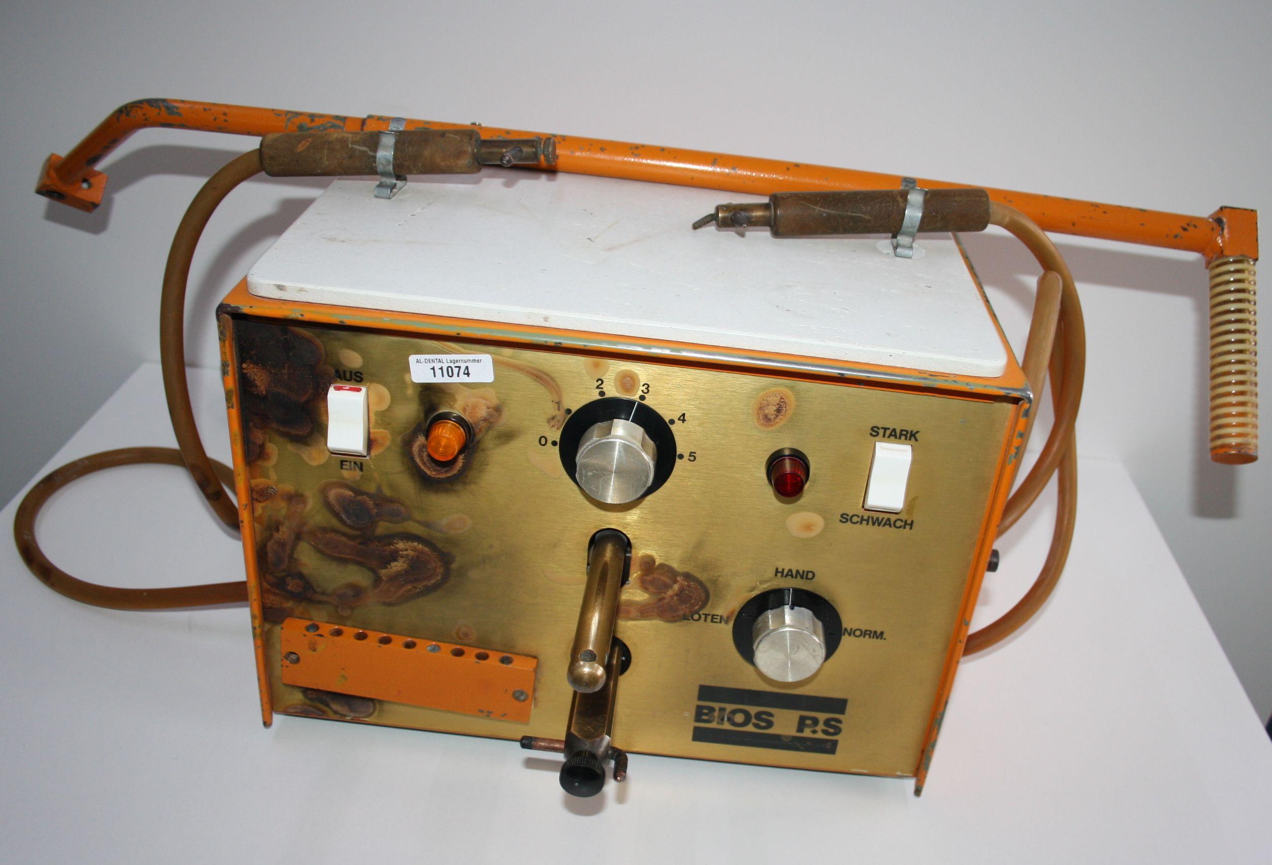 BIOS RS Punktschweißgerät / Lötgerät # 11074