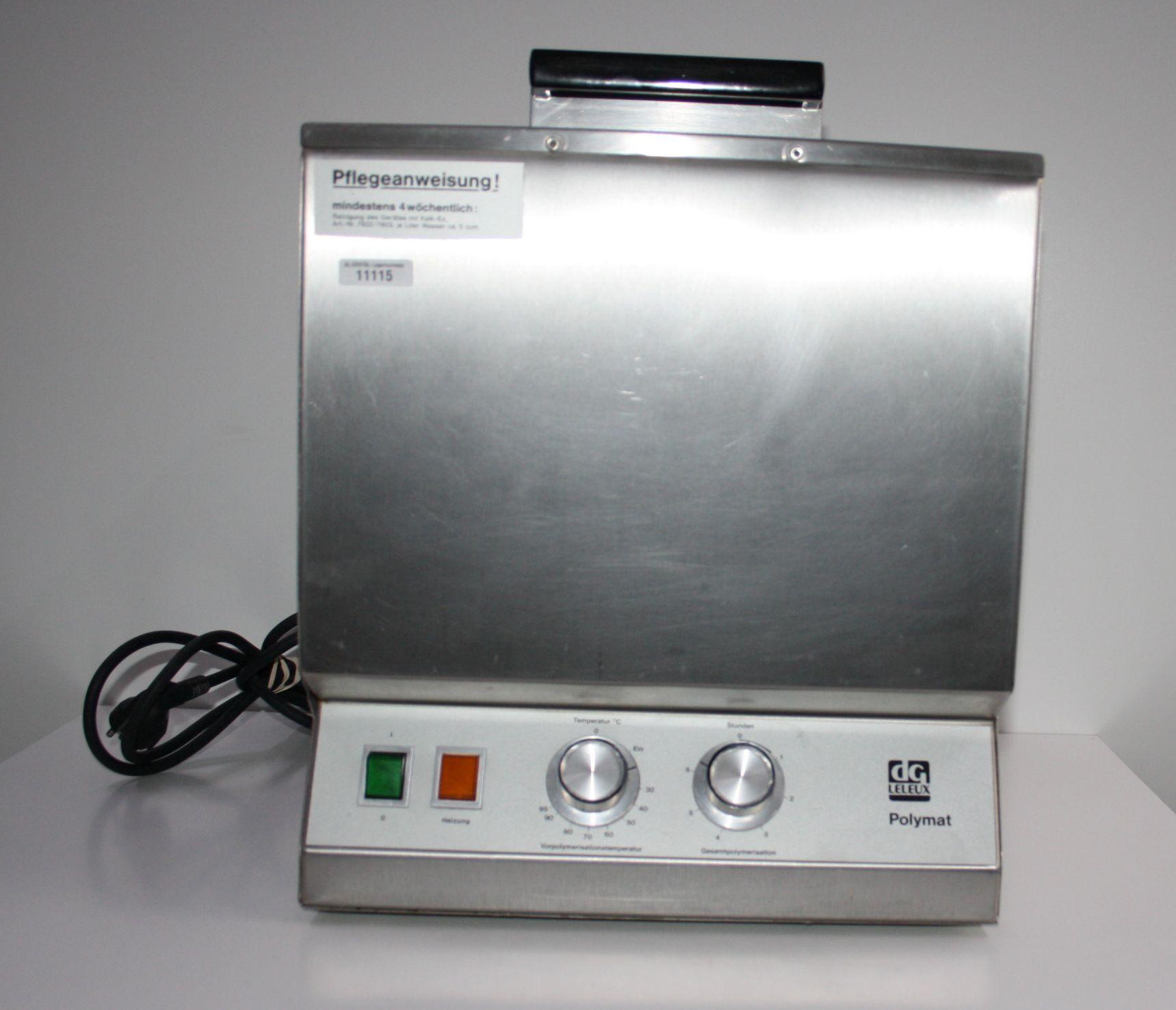 LELEUX Polymerisationsgerät Typ Polymat # 11115