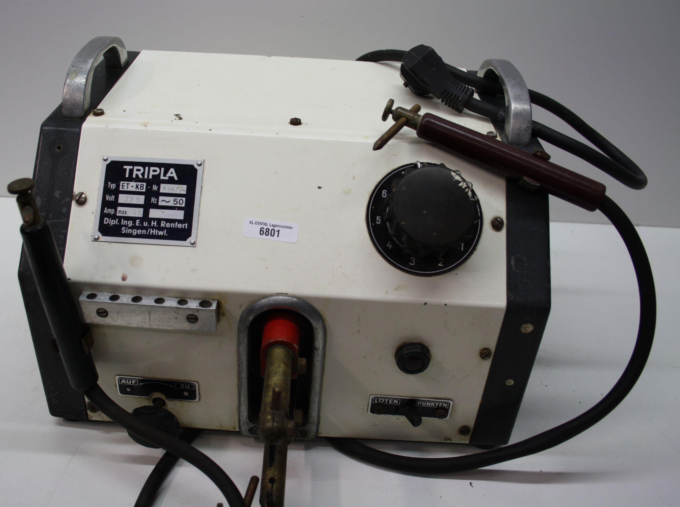 Renfert Tripla Punktschweiß- und Lötgerät Typ: ET-KB # 6801