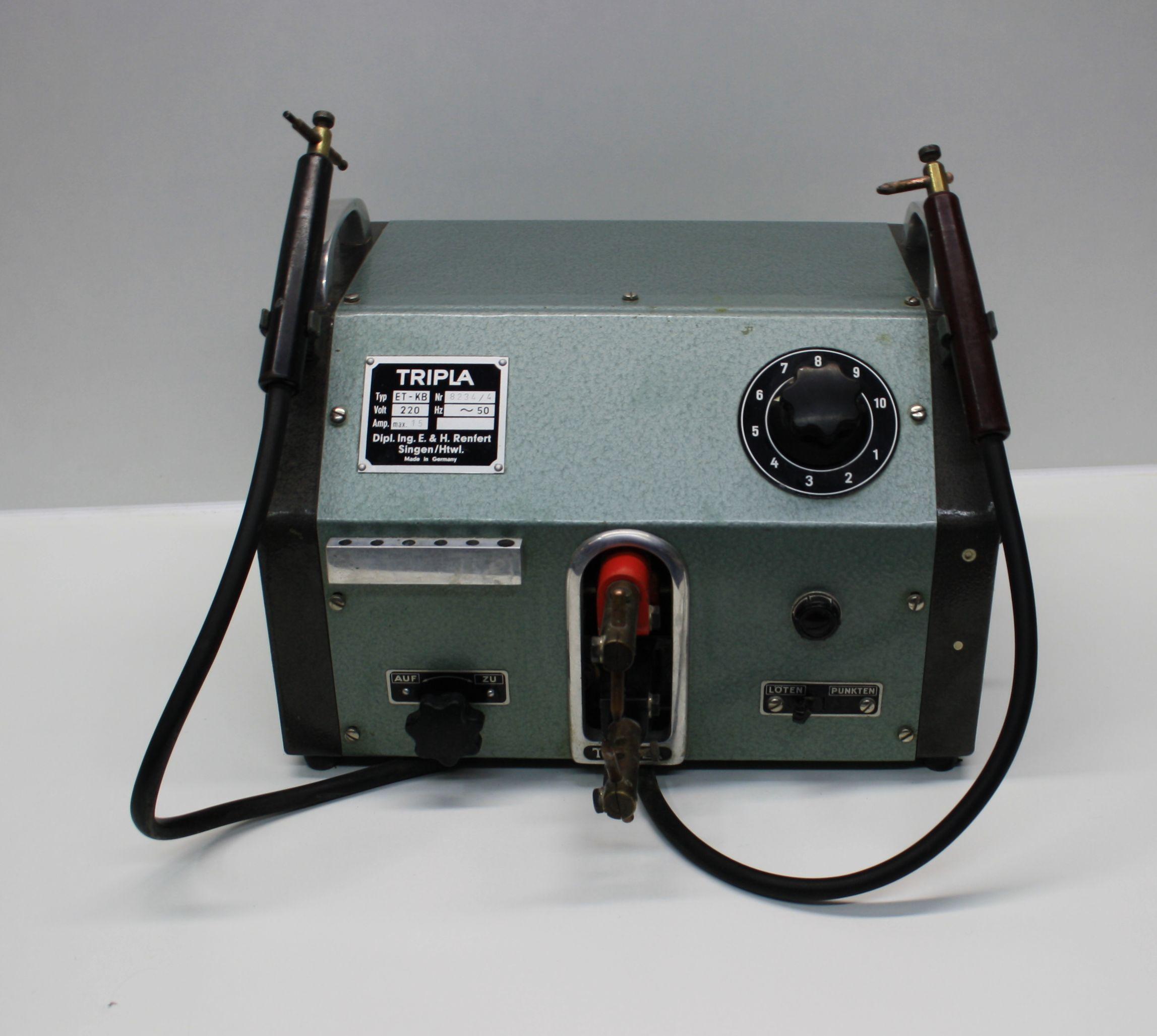 Renfert Tripla (Punktschweiß- und Lötgerät) Typ: ET-KB