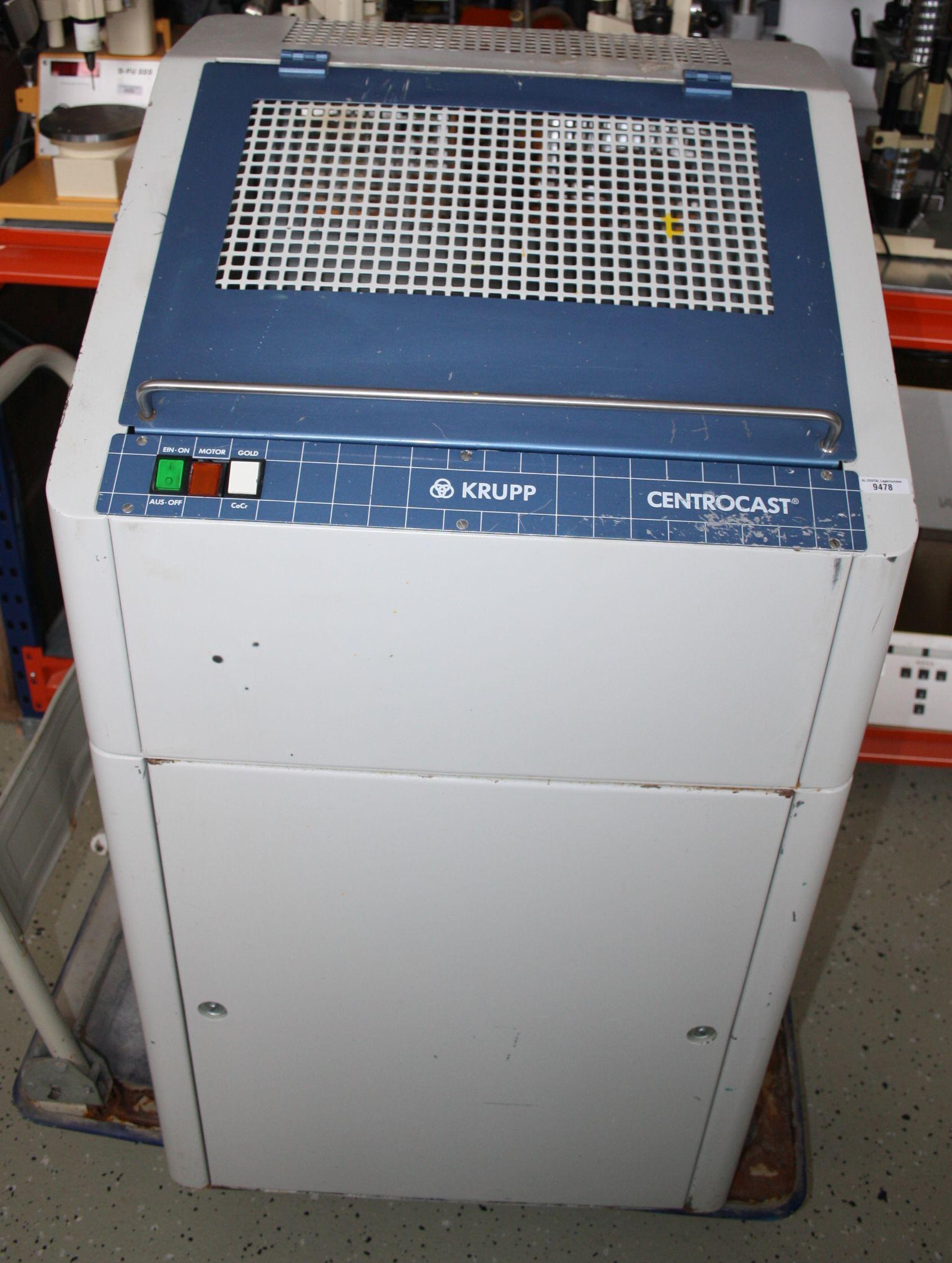 Degussa Motorcast Guss-Schleuder / Gießgerät Typ 2 + Gassparautomat # 9474