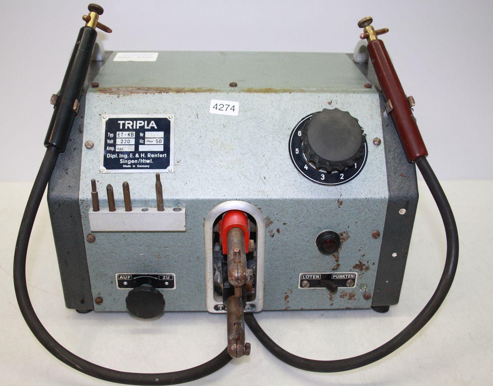 Renfert Tripla Punktschweiß- und Lötgerät Typ ET-KB # 4274