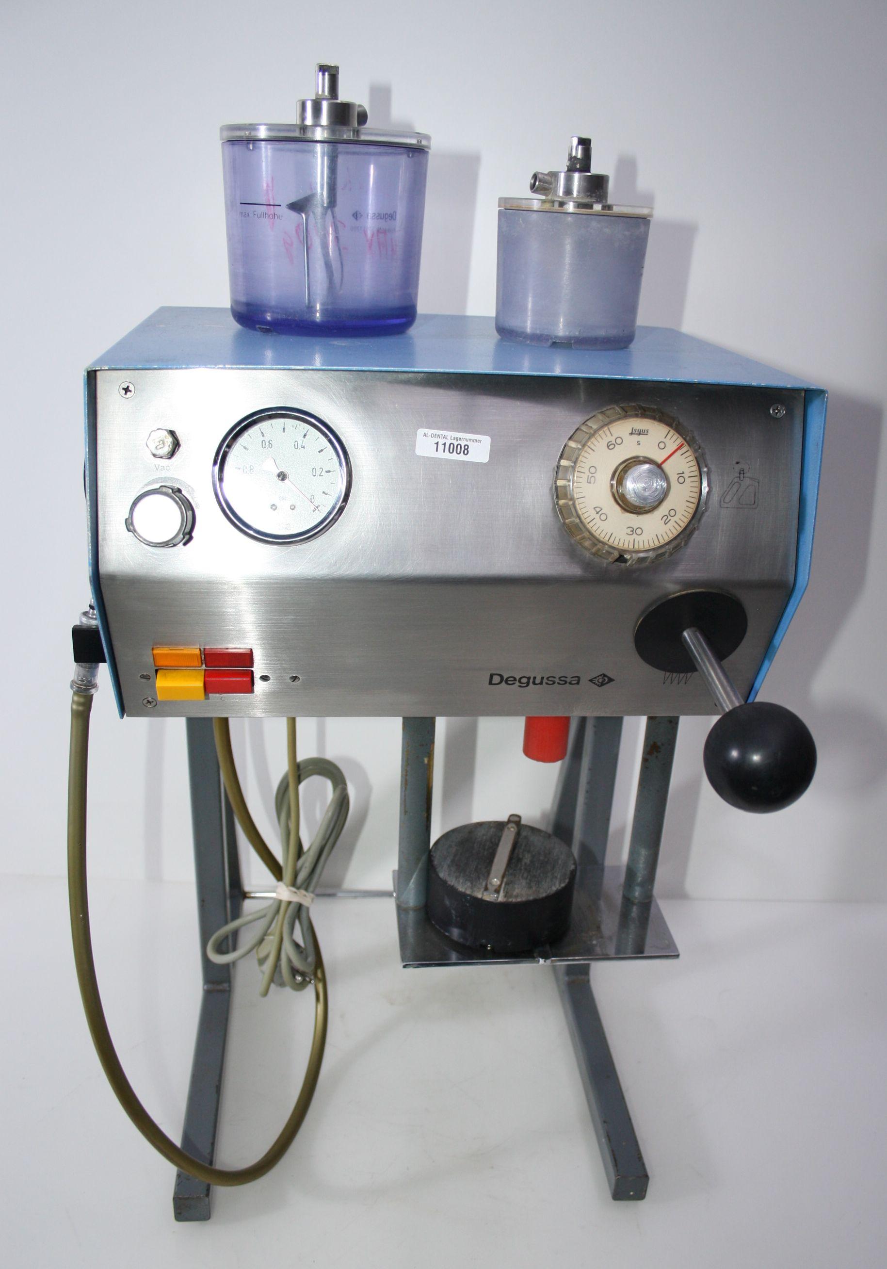 Vakuumanmischgerät Degussa  Multivac 4 Standgerät + 3 Becher # 11007