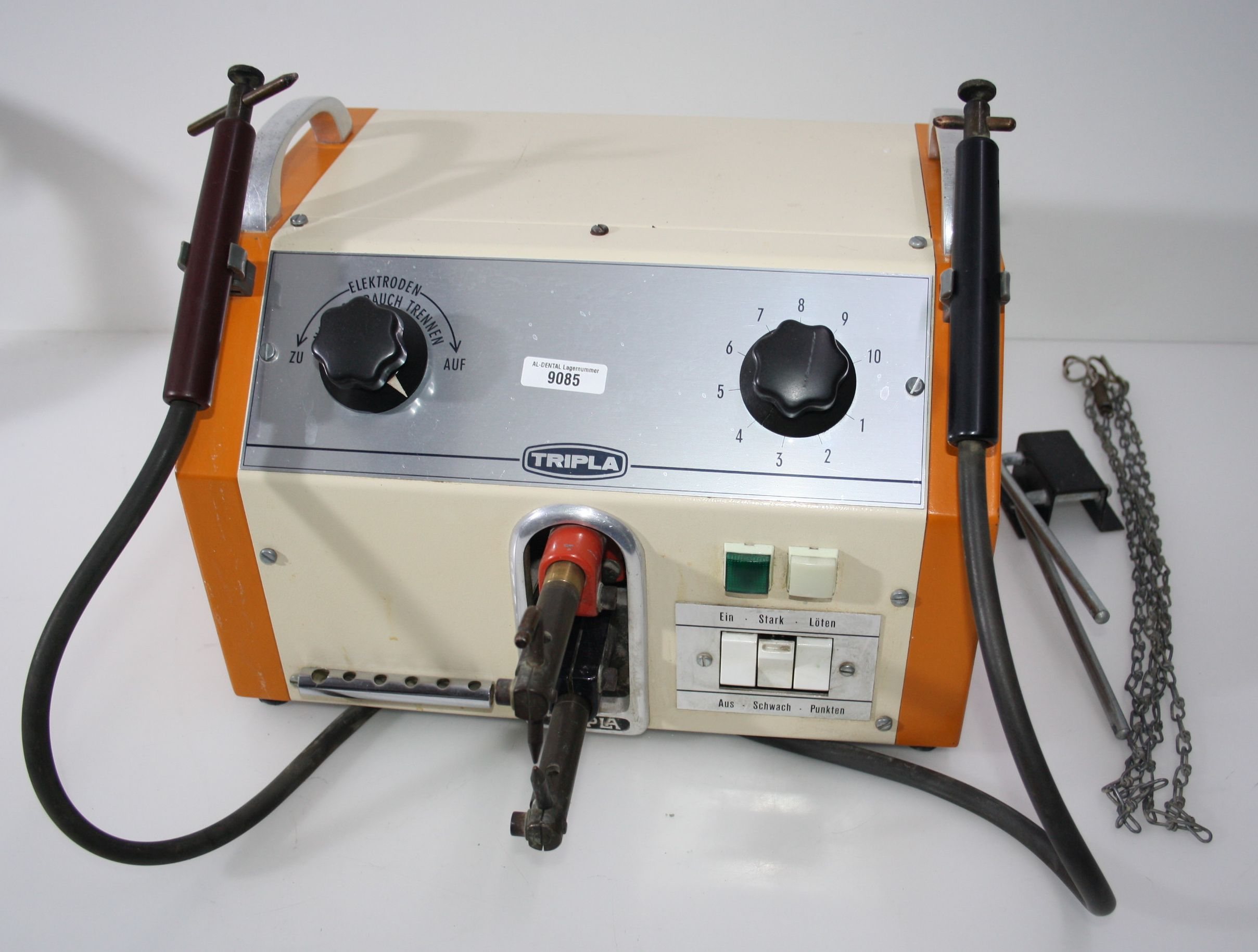 RENFERT TRIPLA Punktschweiß- + Lötgerät Typ 6 ET-KB # 9085