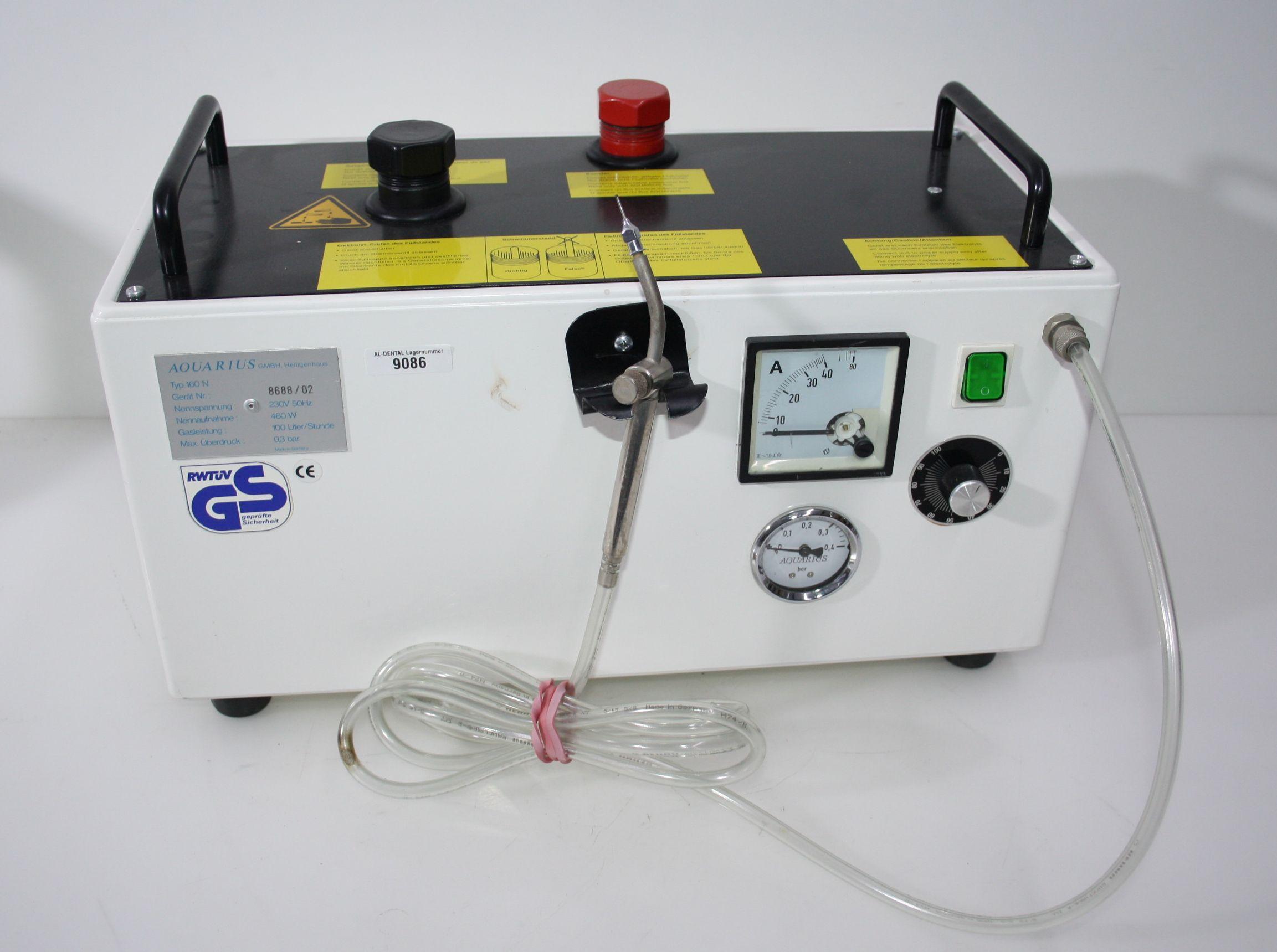 Hydrolötgerät / Wasserstofflötgerät  Aquarius Typ 160 N  # 9086