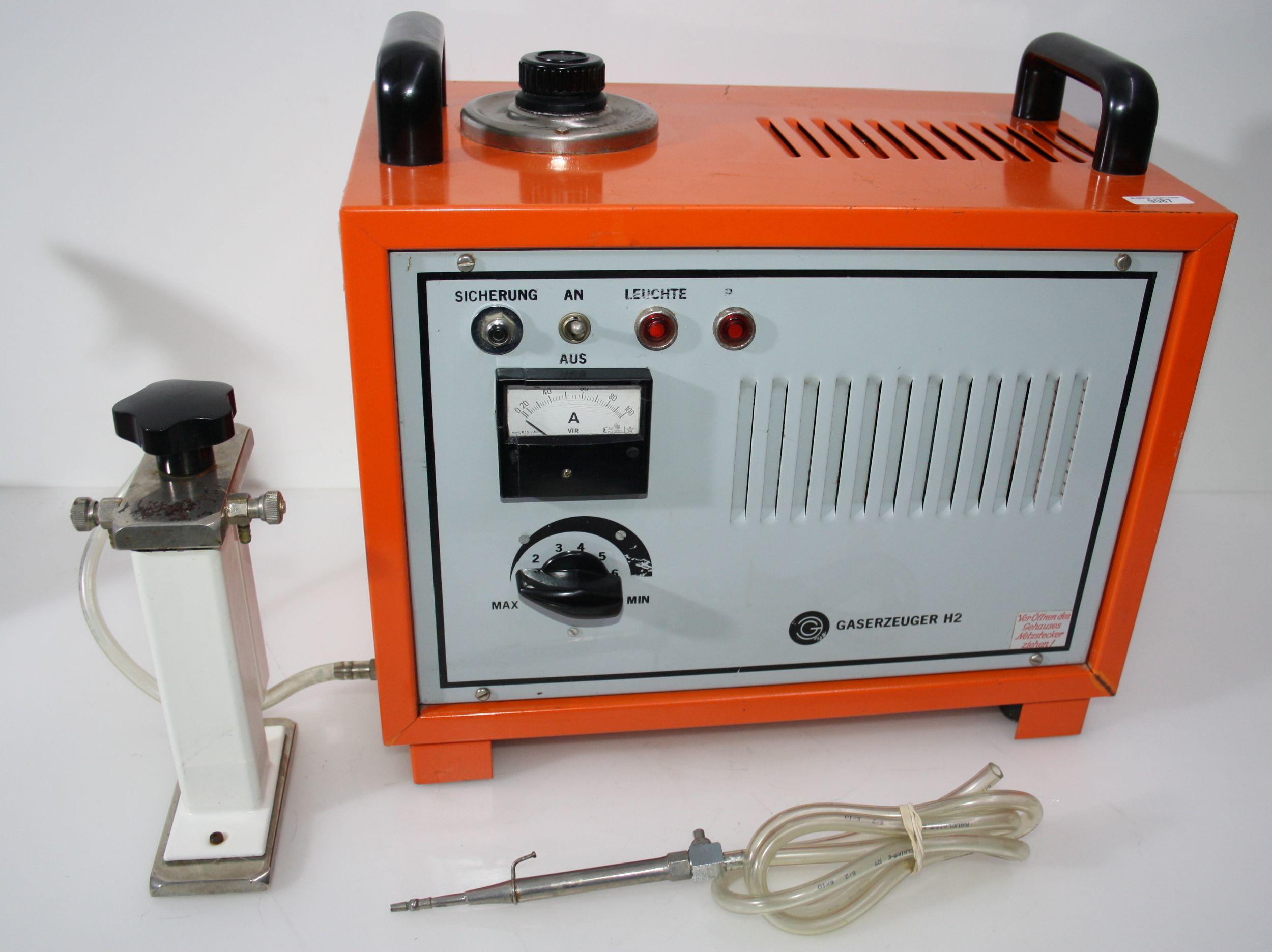 Hydrolötgerät / Wasserstofflötgerät  Gaserzeuger H2 # 9087