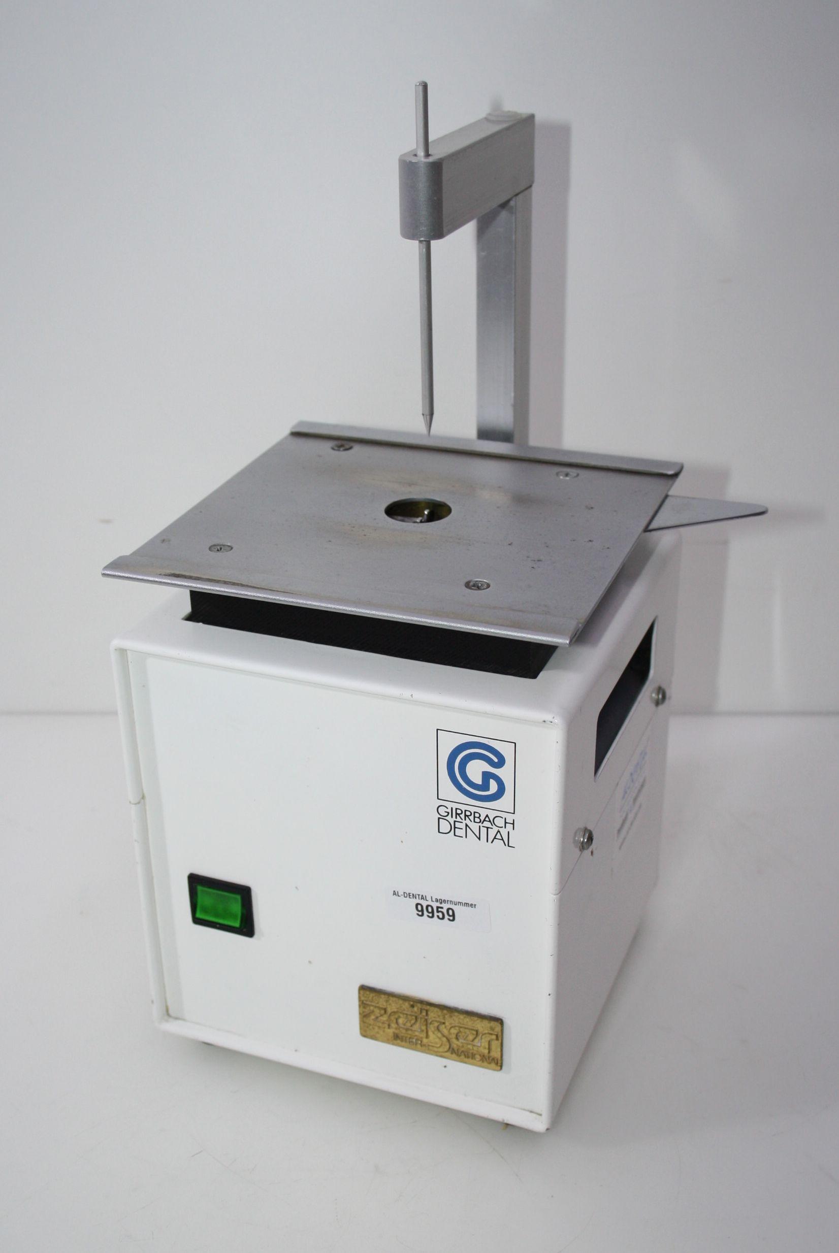 GIRRBACH Dental Pinbohrgerät Zeiser CANU Typ BR 3 # 9959
