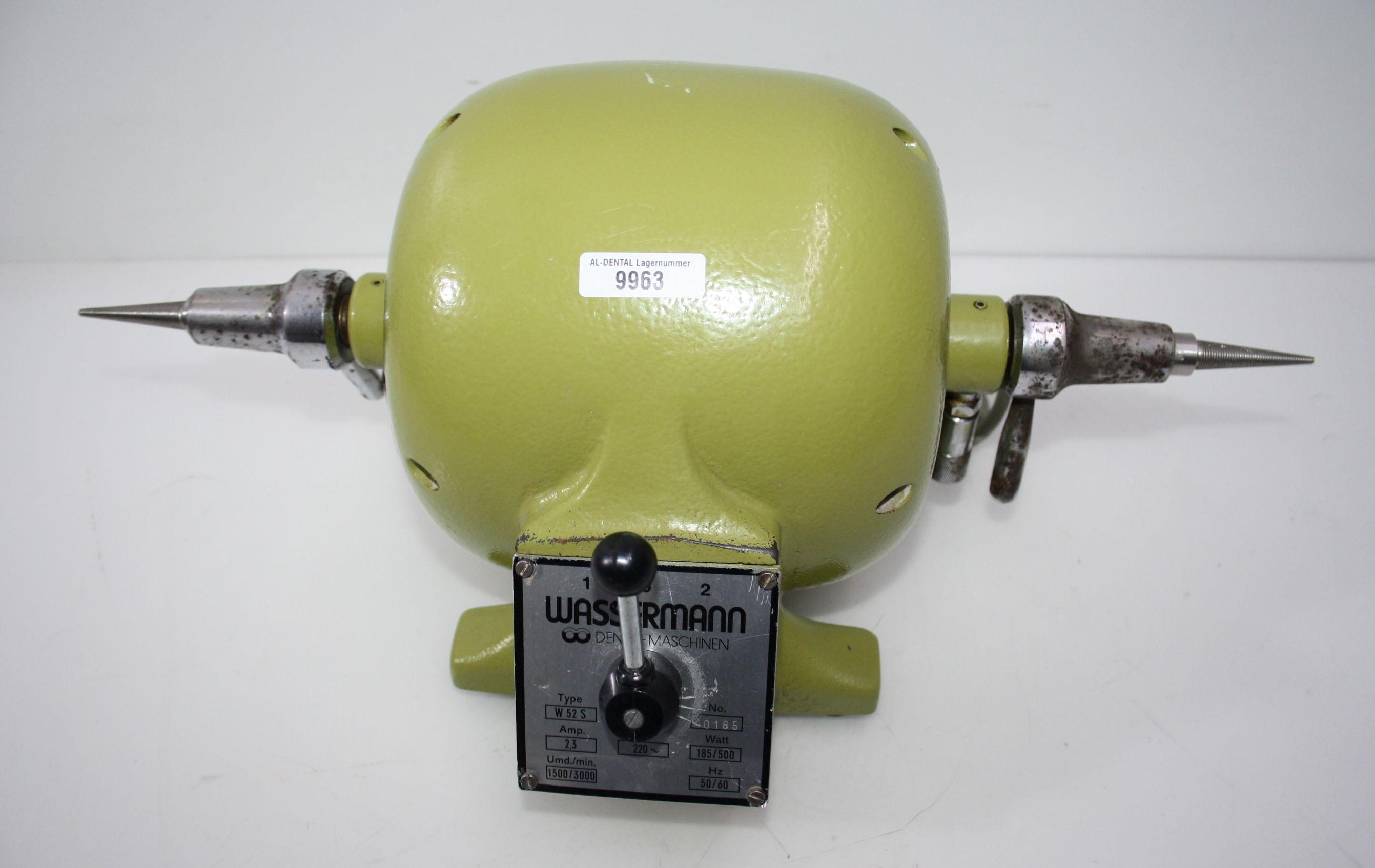 Wassermann Poliermotor Typ W 52 S # 9963