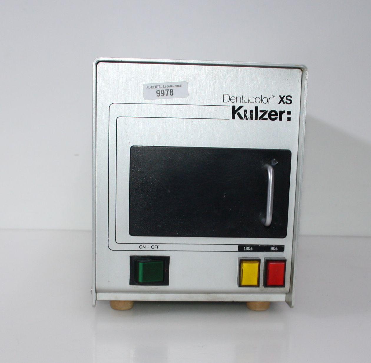Hochleistungs-Lichtpolymerisationsgerät Dentacolor XS Kulzer # 9978