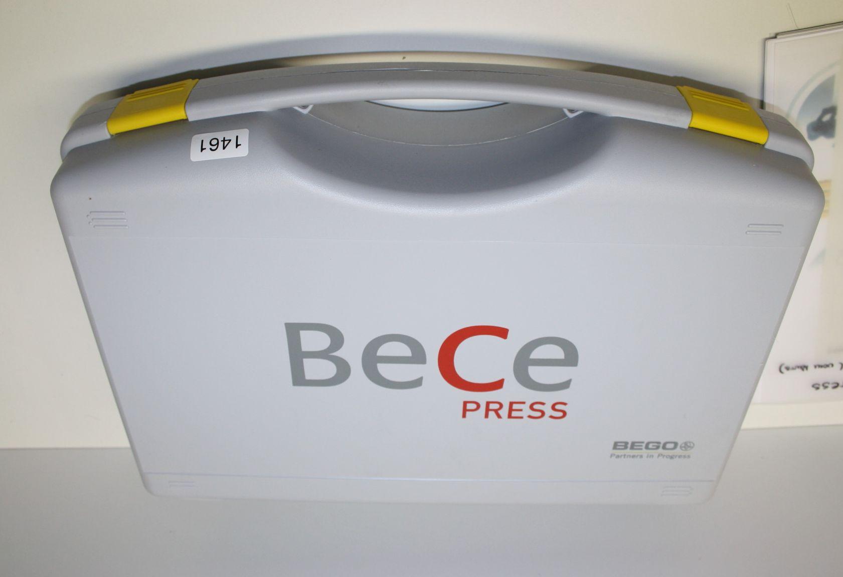 BEGO BeCe Press - Überpress-Keramik für Edelmetall # 1461