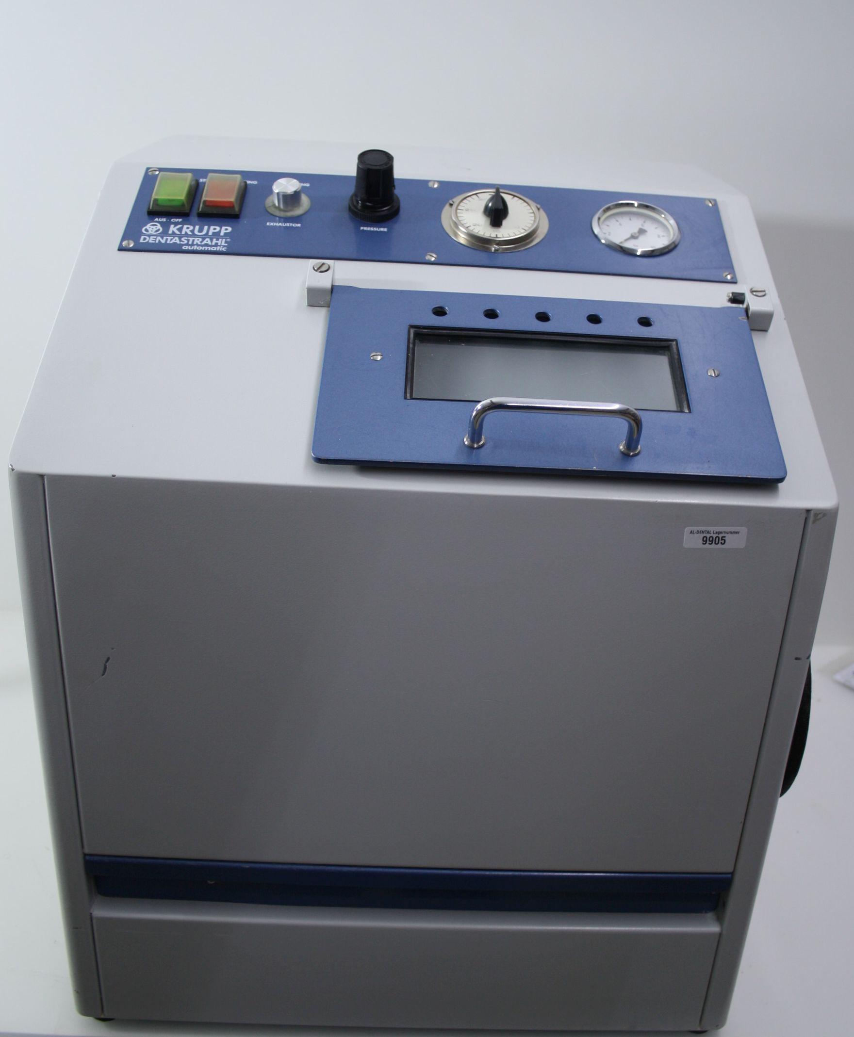 KRUPP Automatik-Umlaufstrahler/Sandstrahler Typ Dentastrahl  # 9905