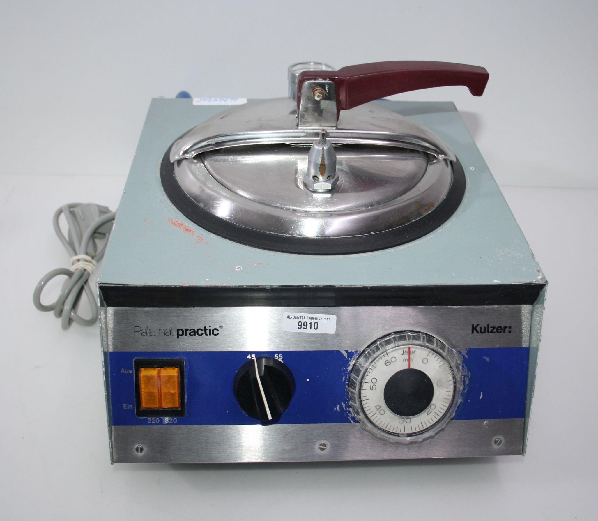 KULZER Drucktopf / Polymerisationsgerät Typ PalamatPractic # 9910