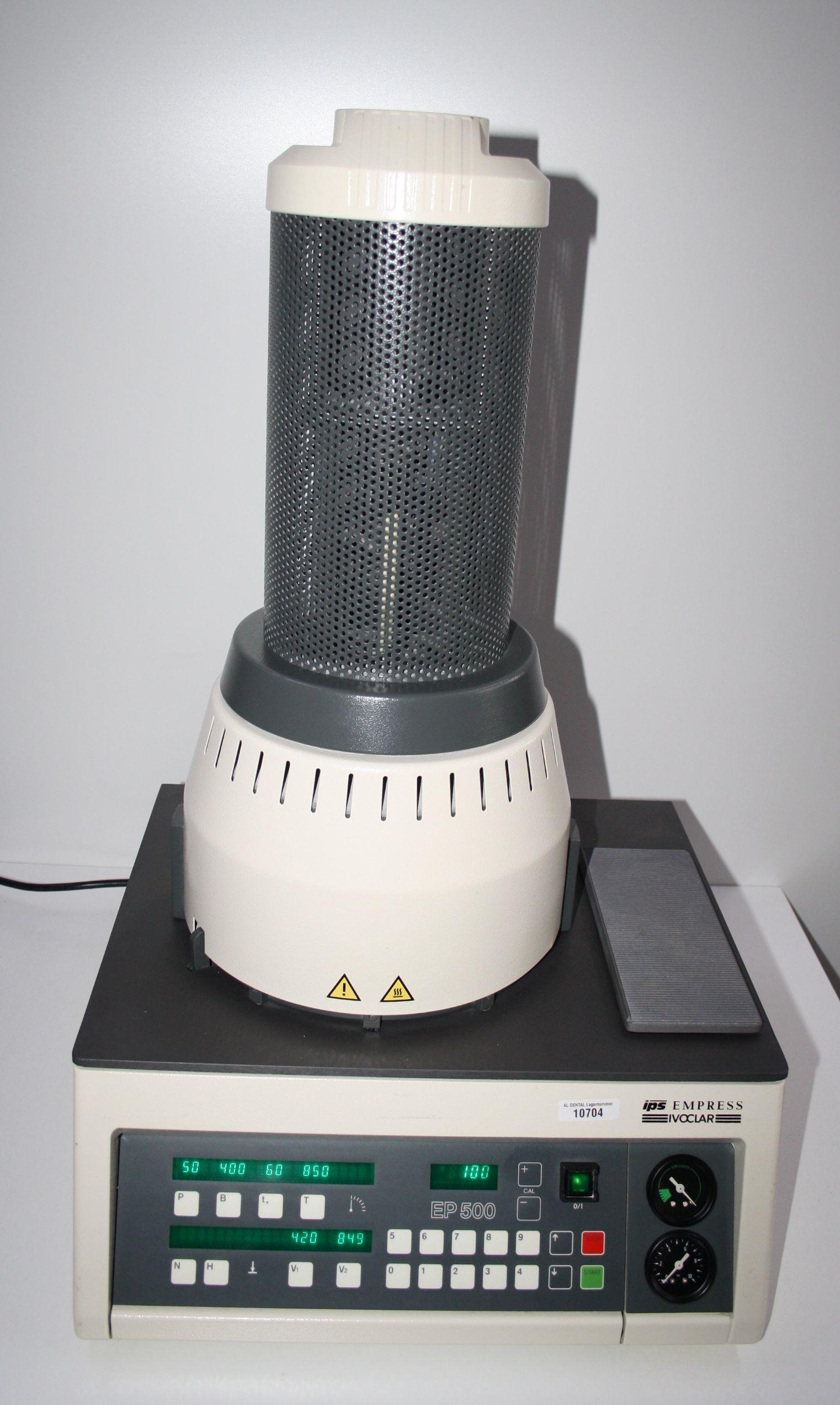 IVOCLAR ips Empress Keramikpressofen EP 500 Typ PR2 # 10704