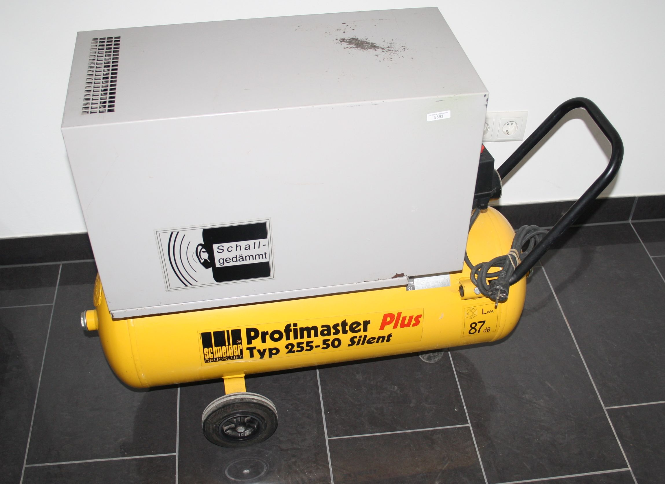 SCHNEIDER Kompressor Profimaster plus Typ 255-50 Silent # 5893