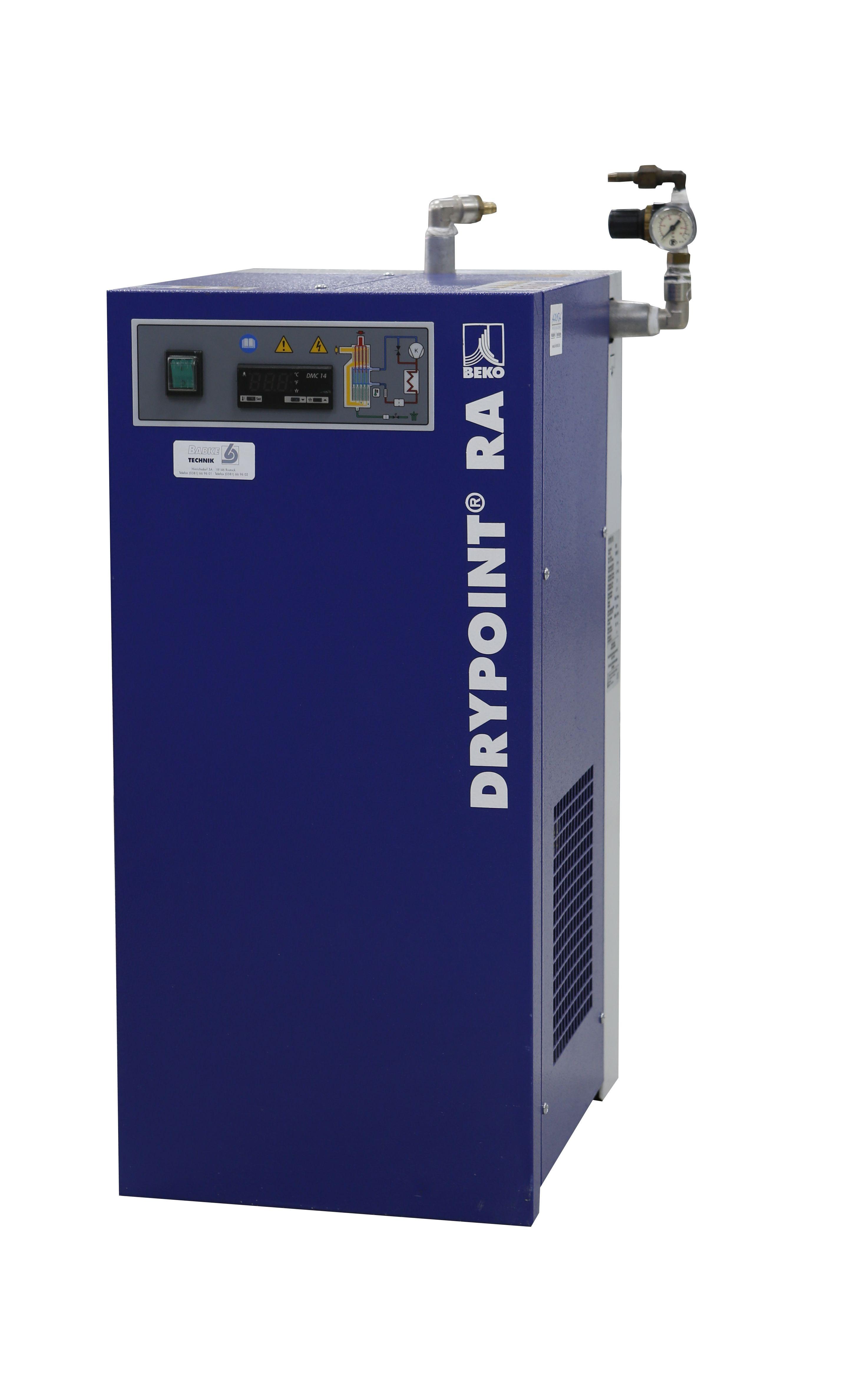 BEKO Kälte-Drucklufttrockner Typ DRYPOINT RA5