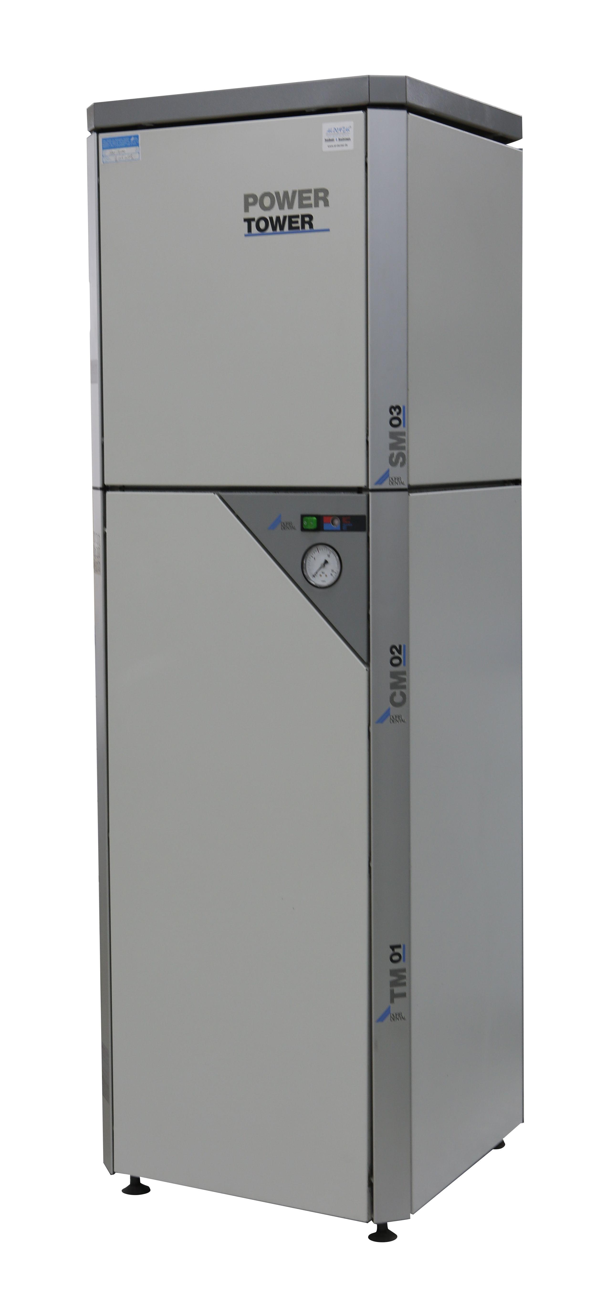 Dürr Power Tower 2 stöckig - Kompressor, Absaugung, Dental
