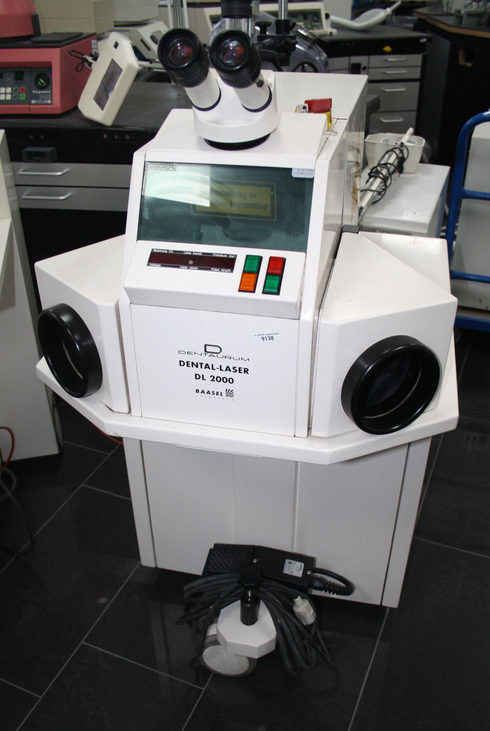 DENTAURUM Laser  / Laserschweißgerät / Dental-Laser DL 2000