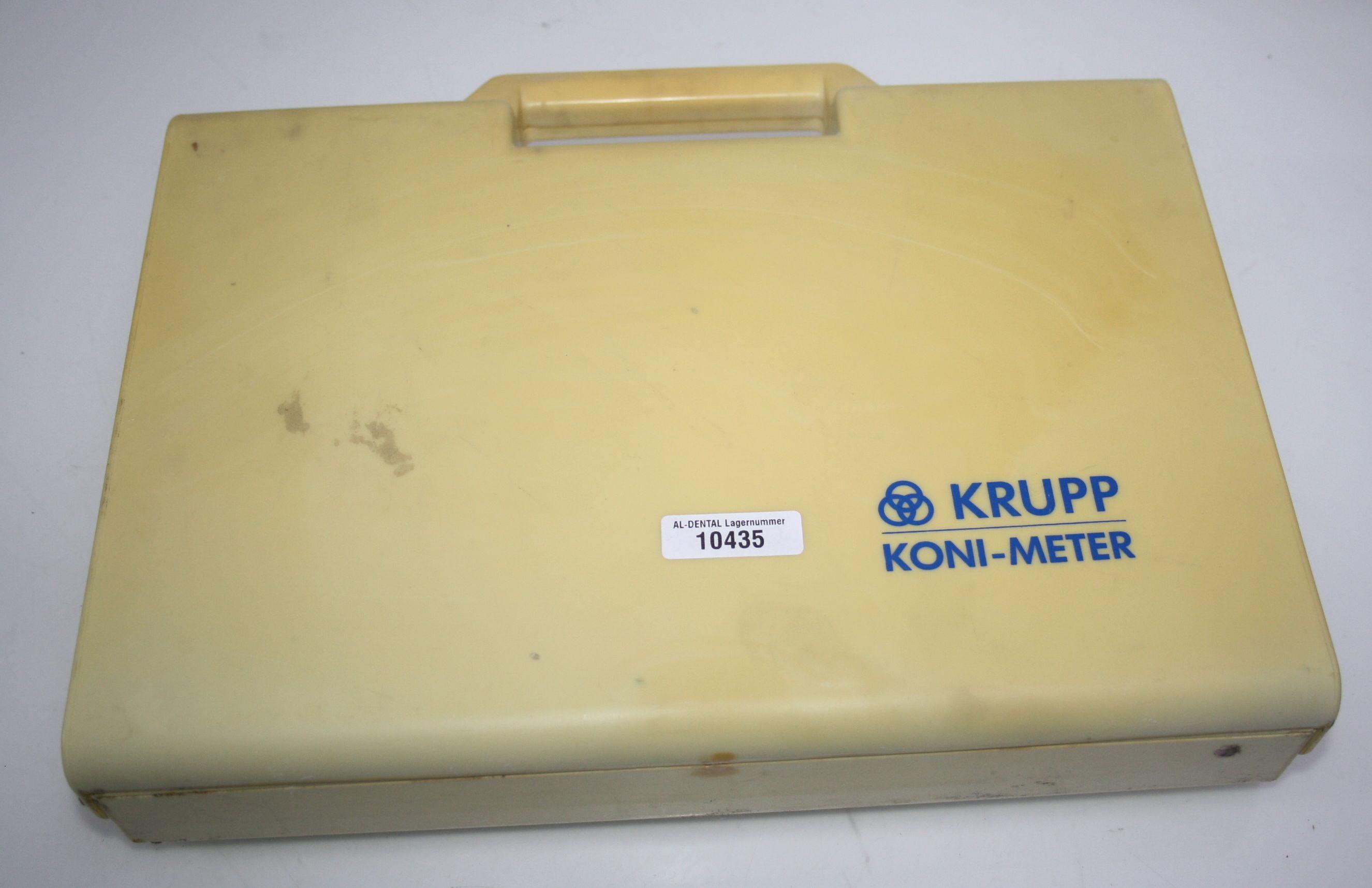 KRUPP Koni- Meter Friktionsmessgerät für Konuskronen # 10435