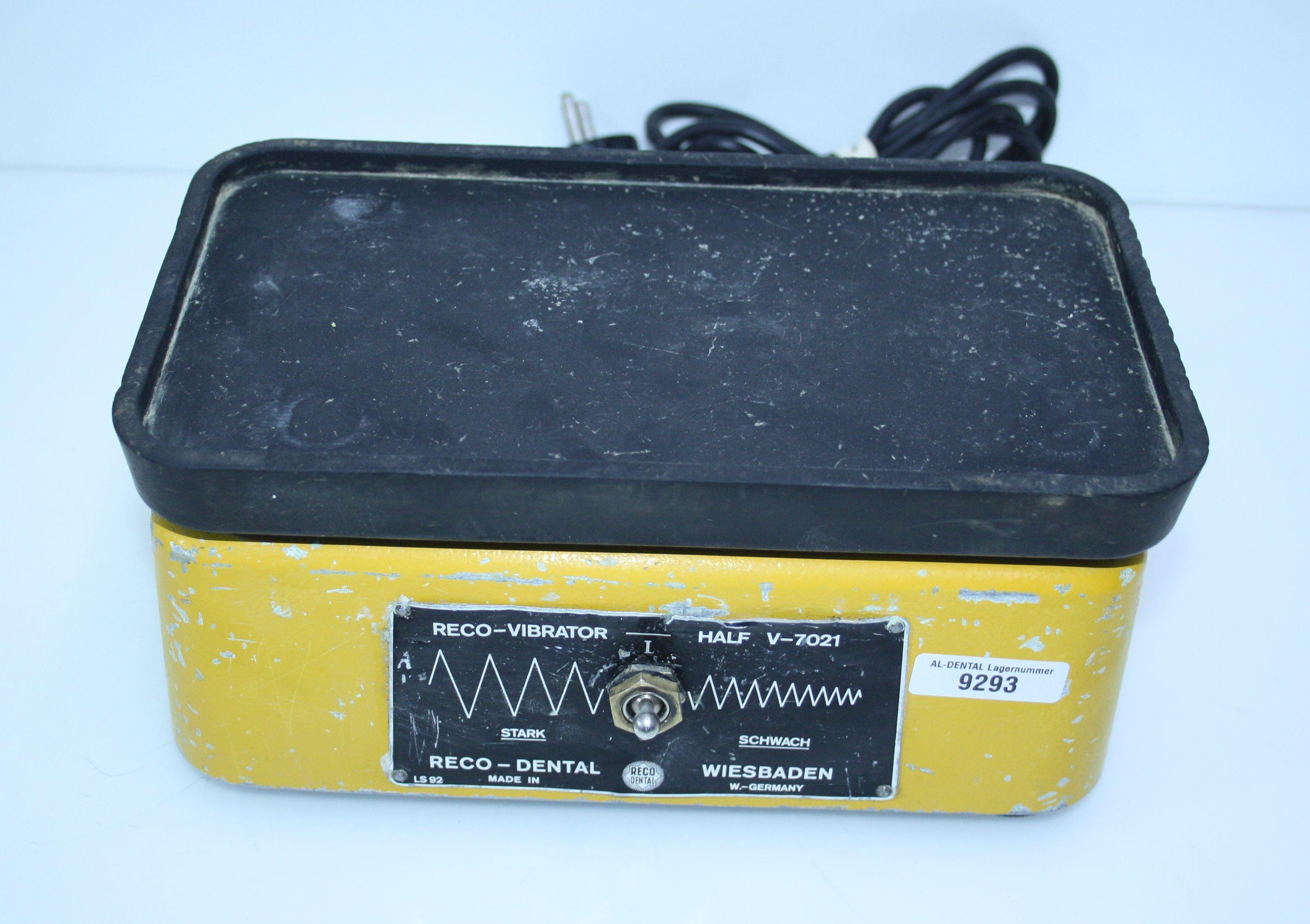 RECO Dental-Rüttler Typ V-7021 M # 9293