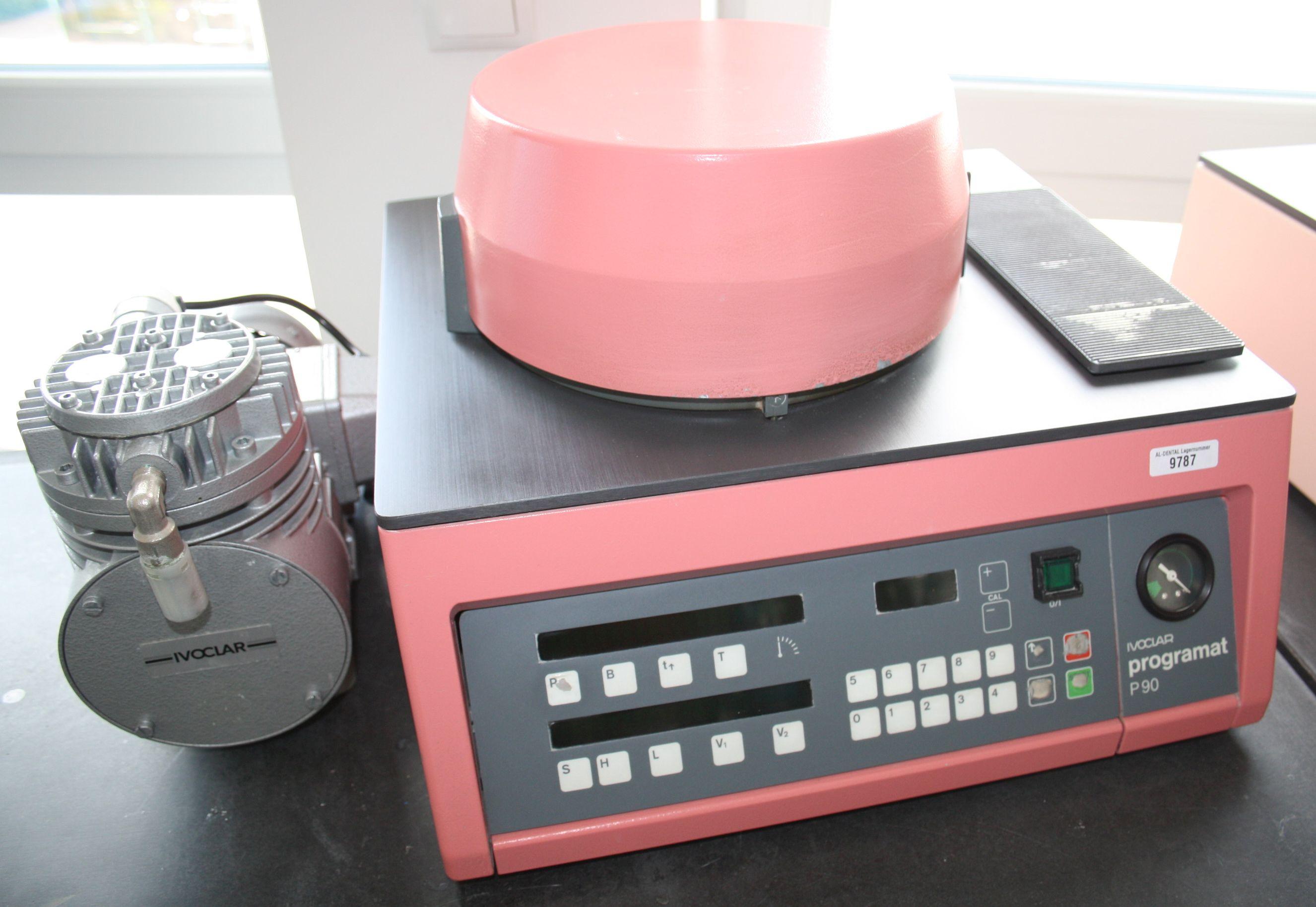 IVOCLAR Keramikofen Programat Typ P 90 + Vakuumpumpe # 9787