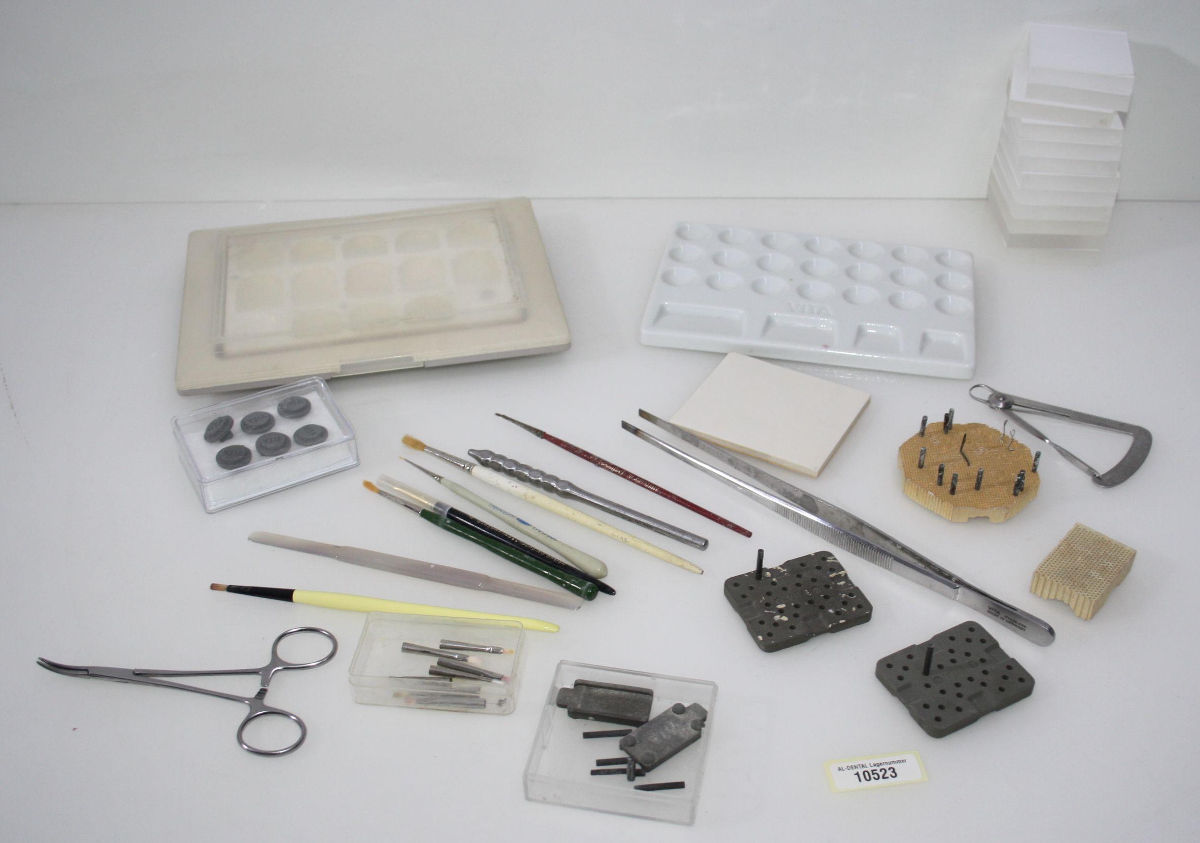 Dentallabor-Restposten diverses Keramik-Equipment # 10523