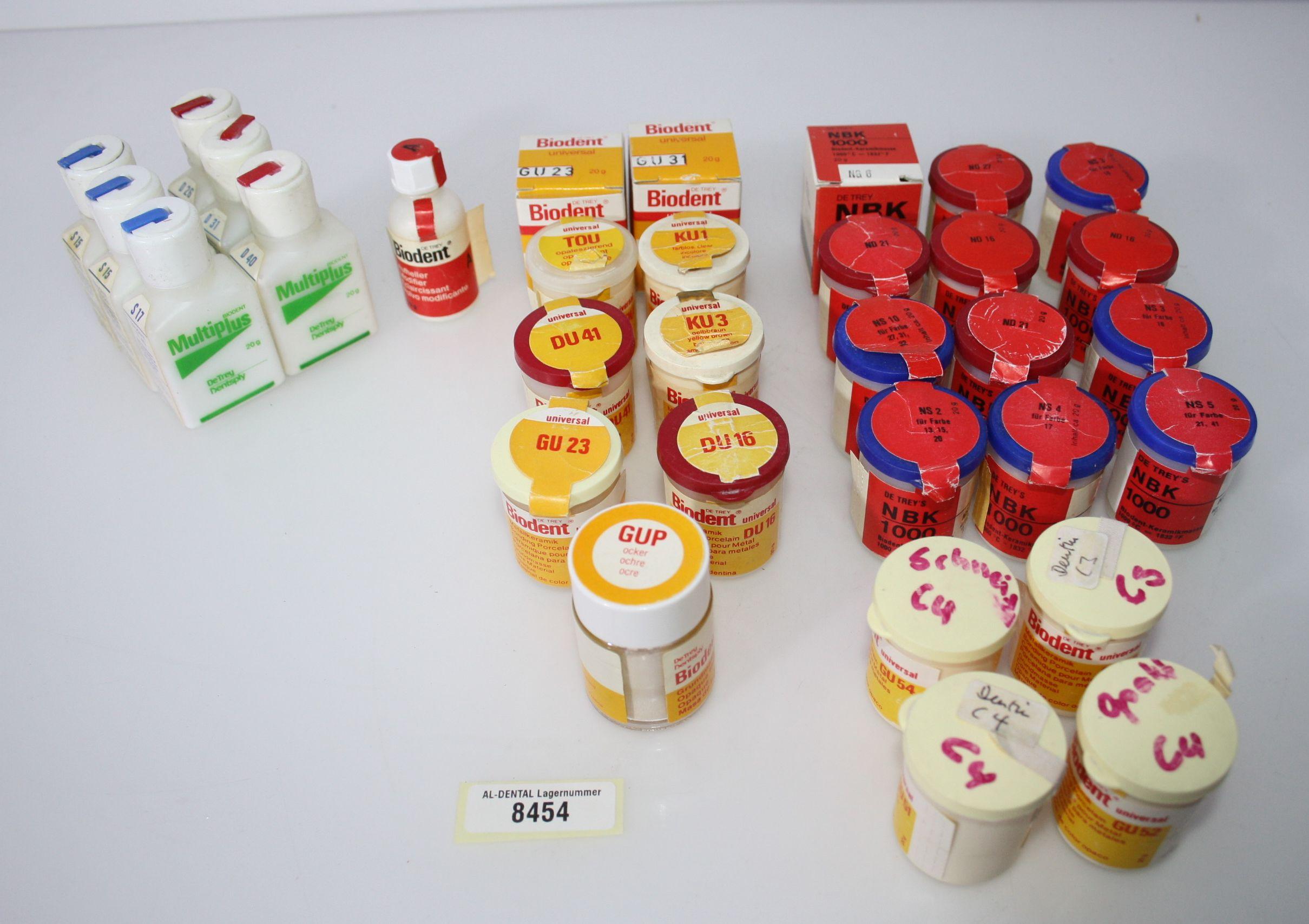 DeTrey Biodent Multi Plus Keramikmassen # 8454