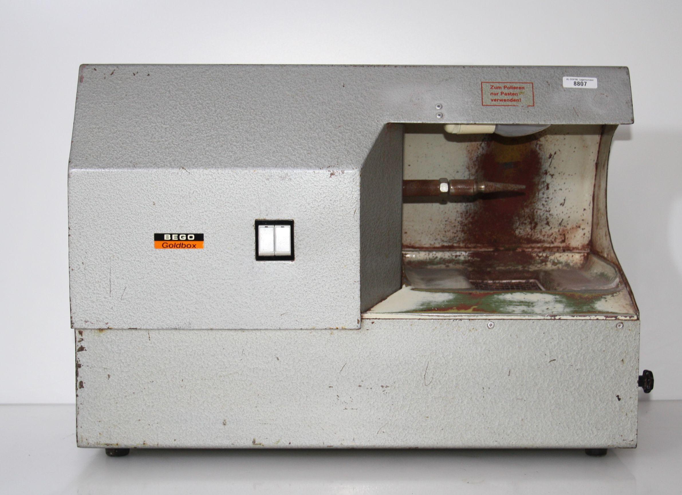 BEGO Goldbox - Poliereinheit # 8807