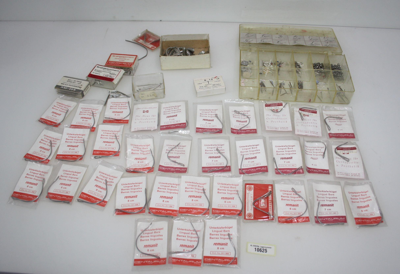 Dental-Labor Restposten KFO-Zubehör namhafter Hersteller # 10625